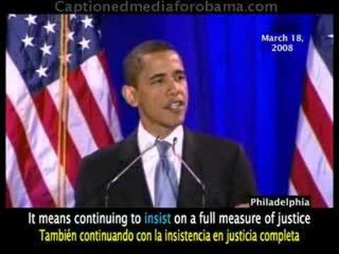 more perfect union speech A more perfect union watch barack's speech on race in america and building a more perfect union  i can no more disown him than i can my white grandmother - a woman who helped raise me, a woman who sacrificed again and again for me, a woman who loves me as much as she loves anything in this world, but a woman who once confessed her fear of.