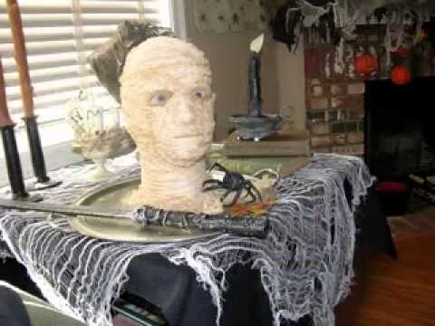 simple diy scary halloween decorations ideas - Diy Spooky Halloween Decorations