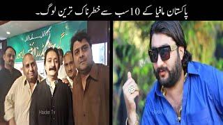 Gambar cover 10 Most Powerful Peoples In Pakistan | پاکستان مافیا کے سب سے خطرناک ترین لوگ | Haider Tv