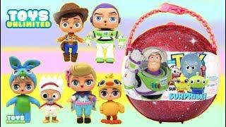 Збереження Історія іграшок 4 користувальницьких ЛОЛ ляльки з Forkys куля-сюрприз