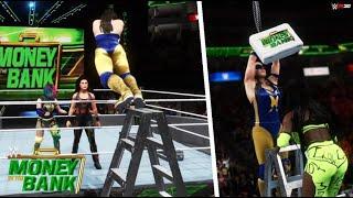 WWE 2K20 SIMULATION: Women's Money in the Bank ladder match 2021, Highlights
