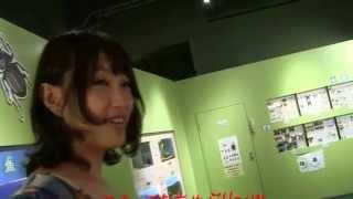 上枝恵美加さんがラジオドラマの舞台になった「多摩六都科学館」へ見学...