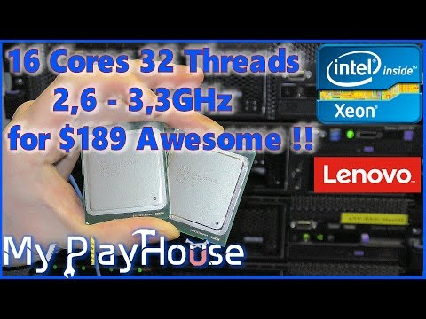 $189 - 16Cores in two Xeon E5-2670 at 2,6-3.3GHz - 483