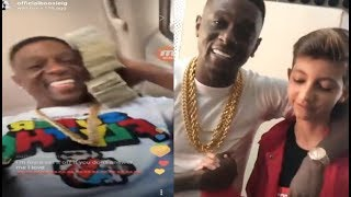 Lil Boosie disses A black man he allegedly killed, all the while embracing a new young white rapper