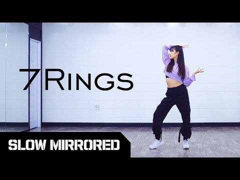 tutorial-chung-ha-ariana-grande-7-rings-slow-mirrored