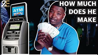 How Much An ATM BUSINESS Makes In ONE MONTH - Ride Along