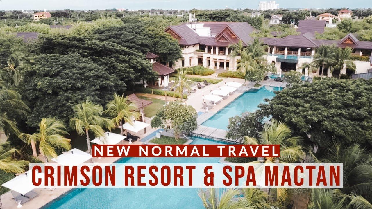 New Normal Travel Update I Crimson Resort And Spa Mactan Cebu I Safety Protocols I We Felt Safe Youtube