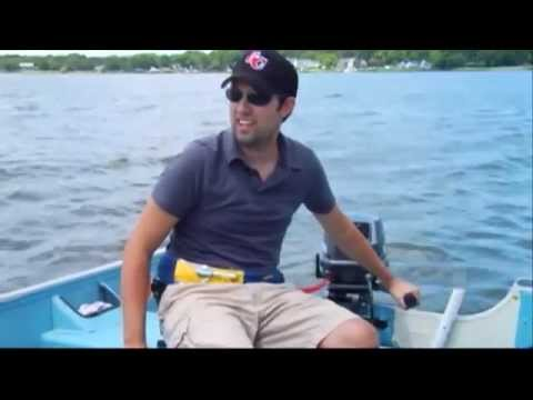 Rental Boat Safety - Power Boats - Tiller-Steered Fishing Boat