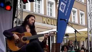 Amazing Live Acoustic Guitar Solo By Estas Tonne with Guitar Manuel Rodriguez