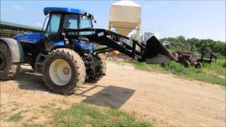 2007 New Holland TV145 MFWD bi-directional tractor for sale | sold at auction August 13, 2014