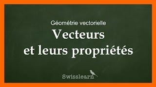 Les vecteurs et leurs propriétés