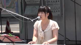 石井かおり 赤いスイトピー(カバー曲)船橋駅前 2013/6/8 石井香織 動画 30