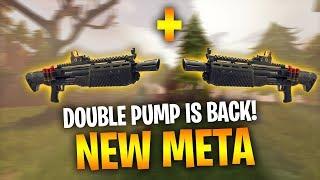 Ninja, Myth New meta: Dual heavy shotguns! - Fortnite Battle Royale WTF & Funny Moments Episode. 123