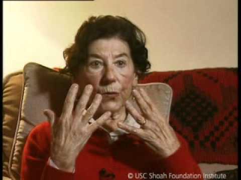 Jewish Survivor Lili Armstrong Testimony