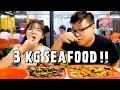 3 KG SEAFOOD SAMPE PUAS DI KERANG KILOAN PAK RUDI !!!