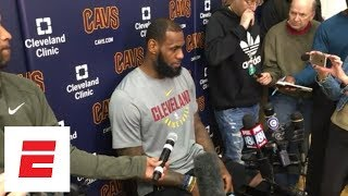 LeBron James: NBA Playoffs are like 'The Hunger Games' | ESPN