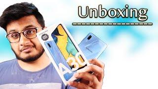 Samsung Galaxy A30 Unboxing | Ye Wala Acha Hai !