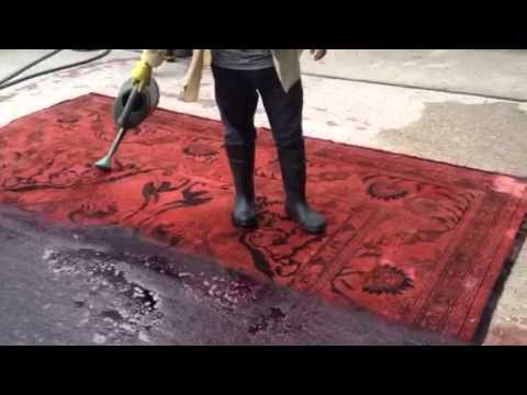 Can You Dye Carpet >> Overdying A Rug At Ashly Fine Rugs Youtube