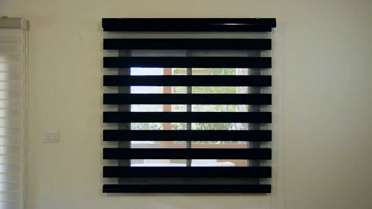 image of zebra blinds