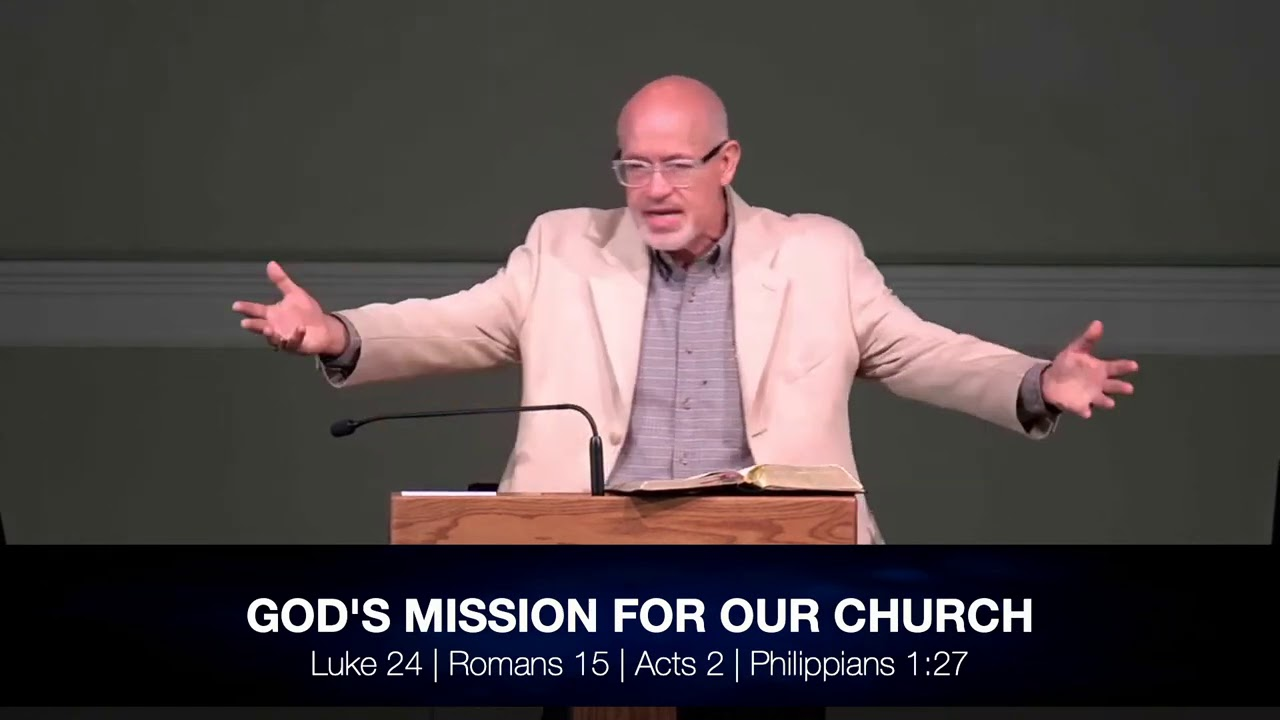 God's Mission for Our Church: Luke 24, Romans 15