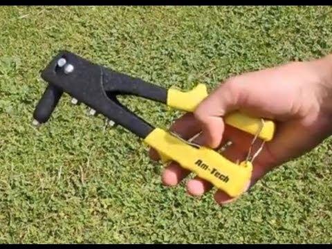 How to Use a Pop Rivet Gun / Blind Rivet