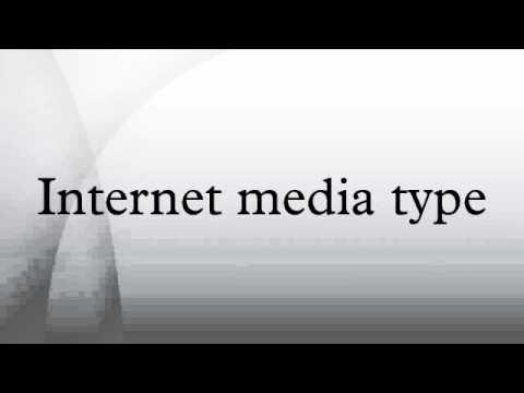 Internet media type