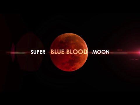 Super Blood Moon Lunar Eclipse !  ( Part 1 )