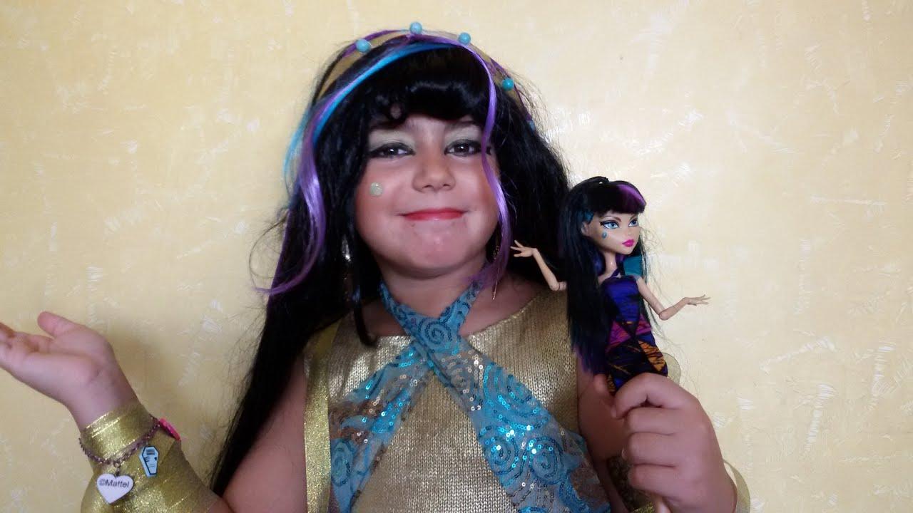 Cleo de nile monster high doll custume makeup tutorial youtube cleo de nile monster high doll custume makeup tutorial baditri Gallery