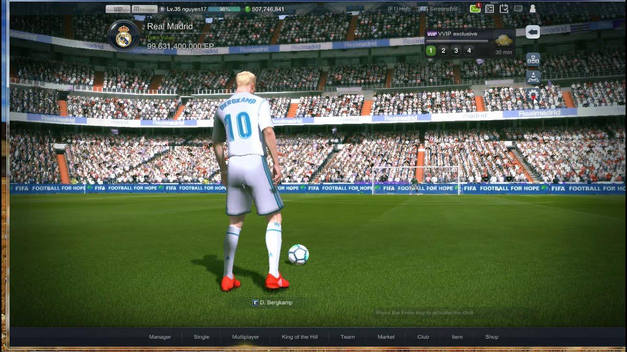 Cách chơi FIFA ONLINE 3 Malaysia mượt hơn cho máy yếu