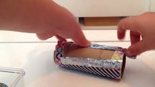 EASY Phone Holder DIY for Kids Made by a Kid| Easy Toilet Paper Roll Phone Holder