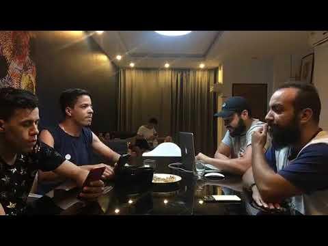 Mohamed Baabit بث مع سيمولايف (Simo Life) + Houssem Zaoui + Bilal Daifi + Mohamed Ali Aguel