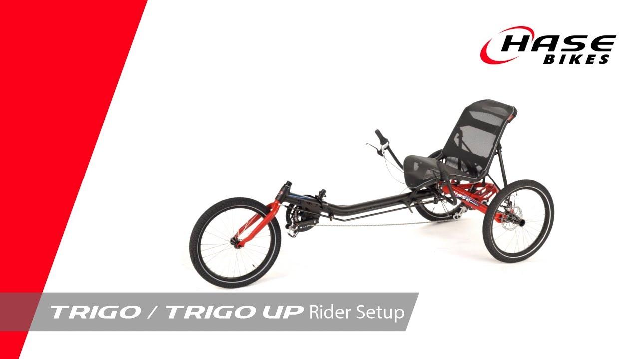 TRIGO / TRIGO UP Rider Setup