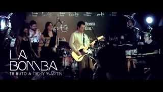 """LA COPA DE LA VIDA (fragmento) por """"LA BOMBA"""" Tributo a Ricky Martin"""