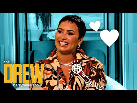 Demi Lovato Feels the Most Beautiful When She's in No Makeup with Her Friends - The Drew Barrymore Show