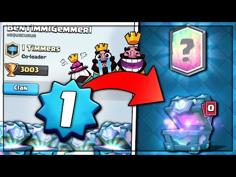 LEVEL 1 NOOB OPENS LEGENDARY CHEST! | Clash Royale | LEGENDARY CHEST SHOP OFFER OPENING!!
