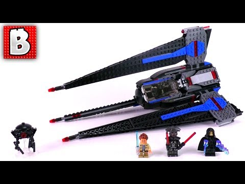 LEGO Star Wars 75185 Tracker 1 Review! New Summer 2017 Set!   Build Time-lapse Review