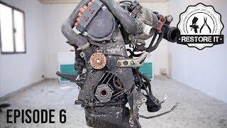 BMW E30 M20B25 Engine Rebuild Restoration - Time-Lapse | Part 6