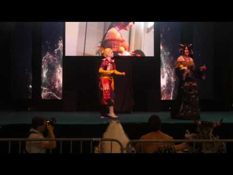 related image - Toulouse Game Show Springbreak 2017 - Cosplay Dimanche - 04 - Final Fantasy VI - X - Kefka  - Lulu