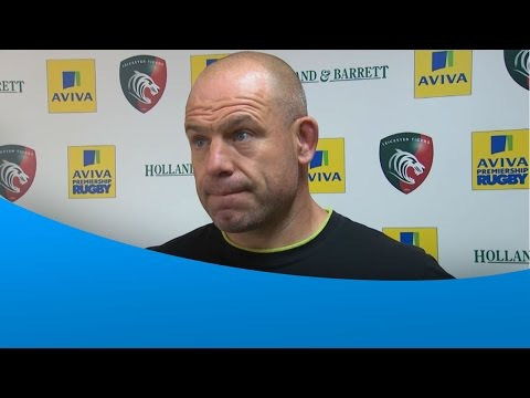 Richard Cockerill post match interview - Leicester Tigers 34-13 Worcester Warriors