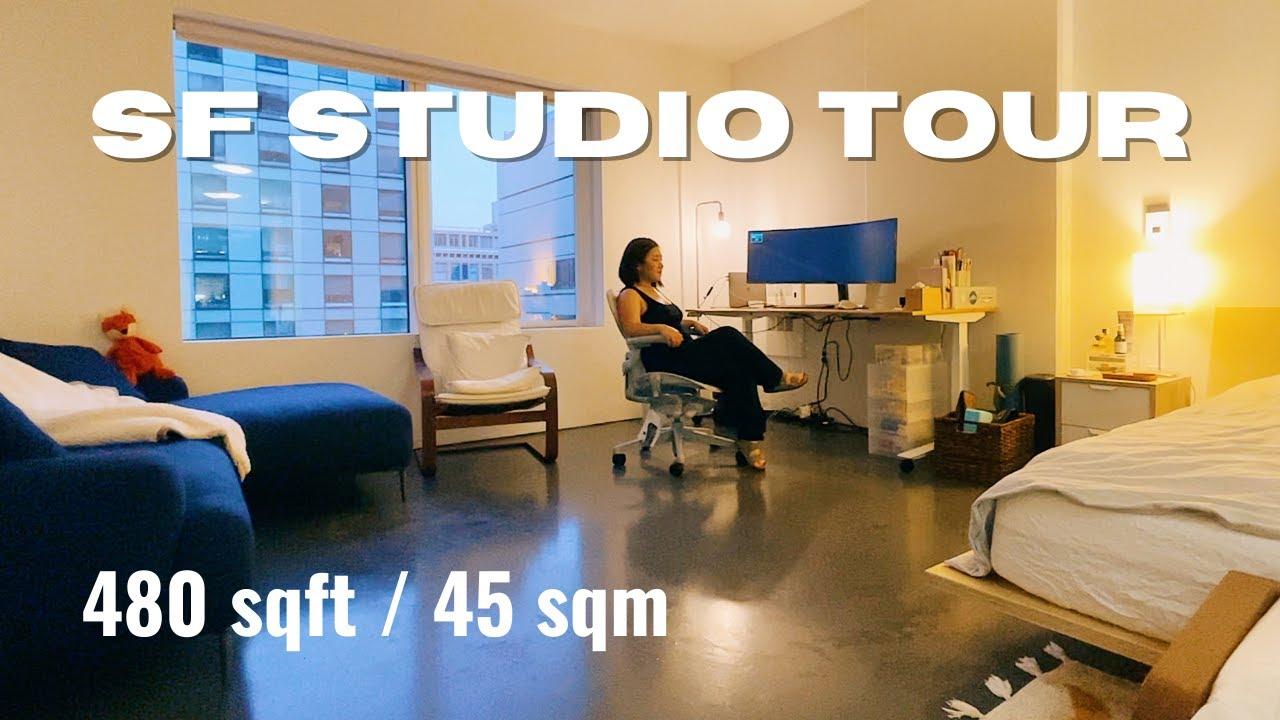 Minimalist Apartment Tour | San Francisco Studio 小户型温馨极简公寓 | 小户型收纳好物推荐 | NEVER TOO SMALL | ActNormal