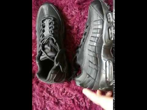 d44e50a610ba ... Nike Air Max 95 Triple Black Unboxing and Review Aliexpress yupoo ...