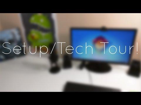 Alexander's Setup/Tech Tour (Late 2014)!