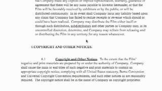 Film Investor Contract