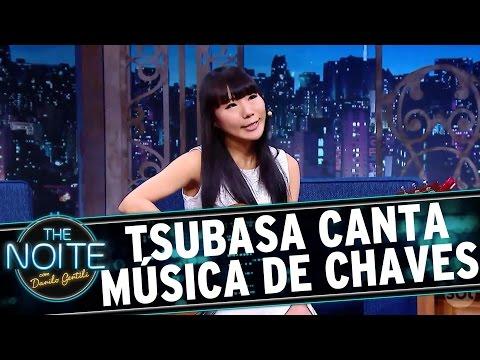 The Noite (04/10/16) - Tsubasa toca música de Chaves e Danilo se emociona
