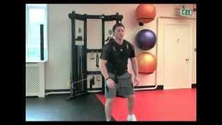 Aceleration Vest-Forward Jumps-Attached at Waist