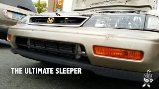 The Ultimate Sleeper - 94 Honda Accord, Turbo?!? e85