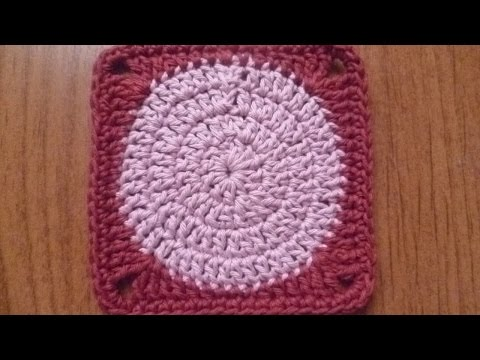 How To Make a Circle in a Square Crochet Pattern - DIY Crafts Tutorial - Guidecentral