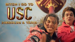 24kGoldn - I Go to USC ft. Yasin (Official Music Video)