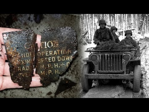 Metal Detecting WW2 - Vehicle Parts and more cool stuff! + Unknown Objects