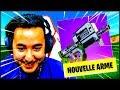 LA NOUVELLE MEILLEURE ARME DE FORTNITE !!!
